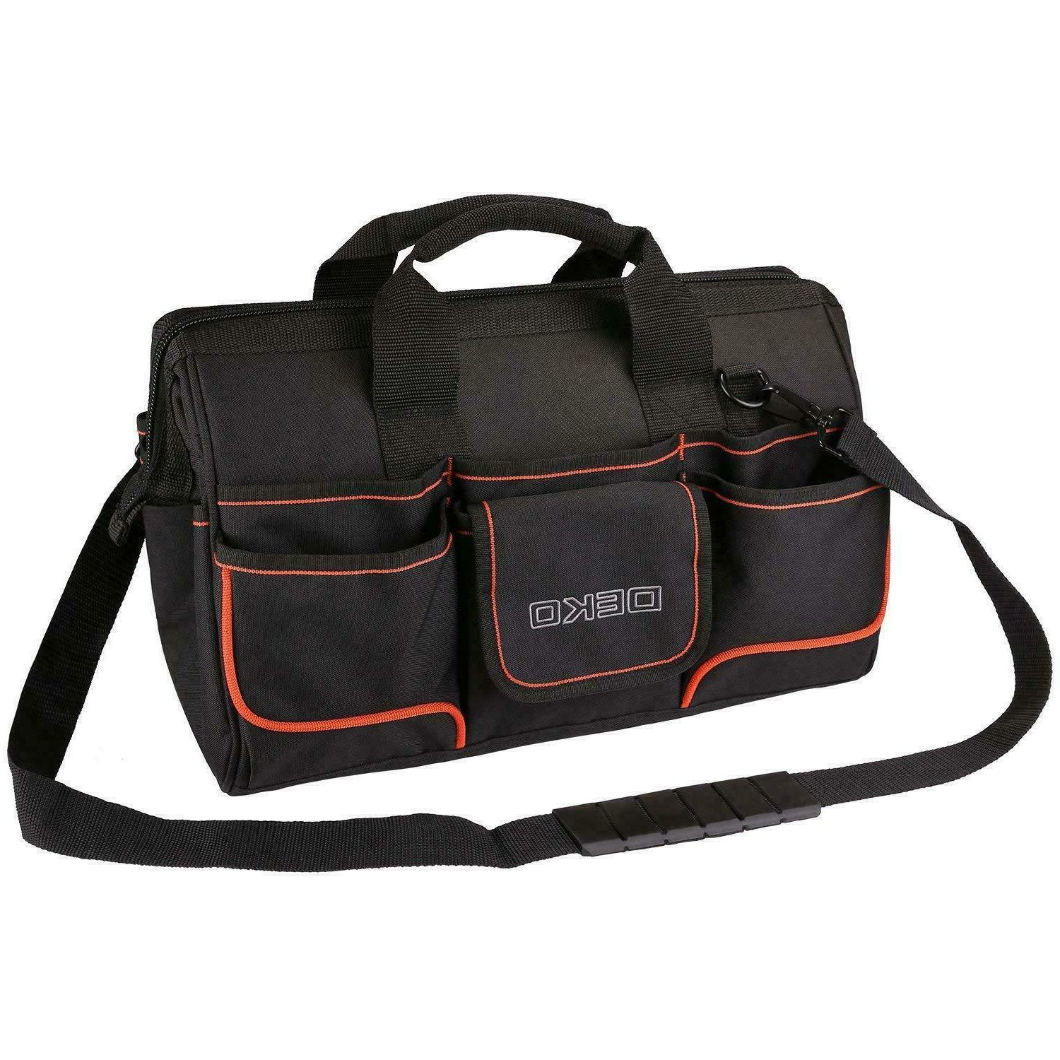 "DEKO Tool Bag 8.6"" Large Heavy Duty Proof"