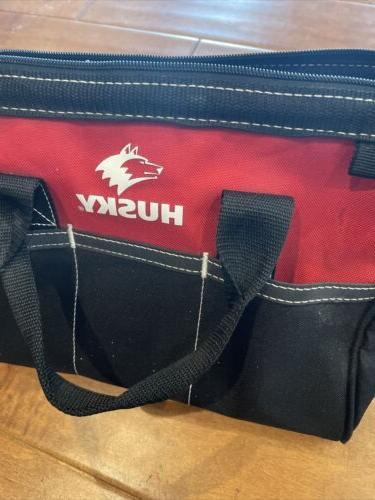 Husky Bag Black And Red Organizer