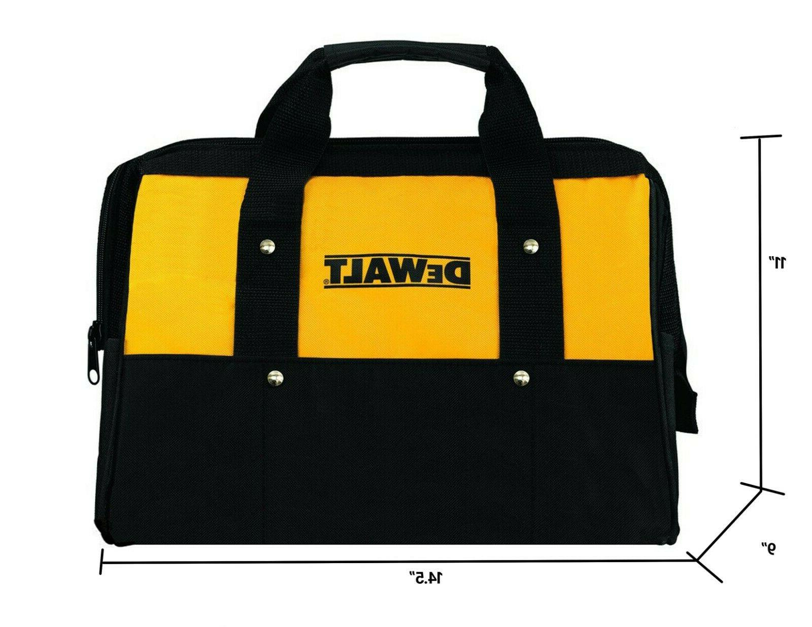 tool bag heavy duty nylon med 14