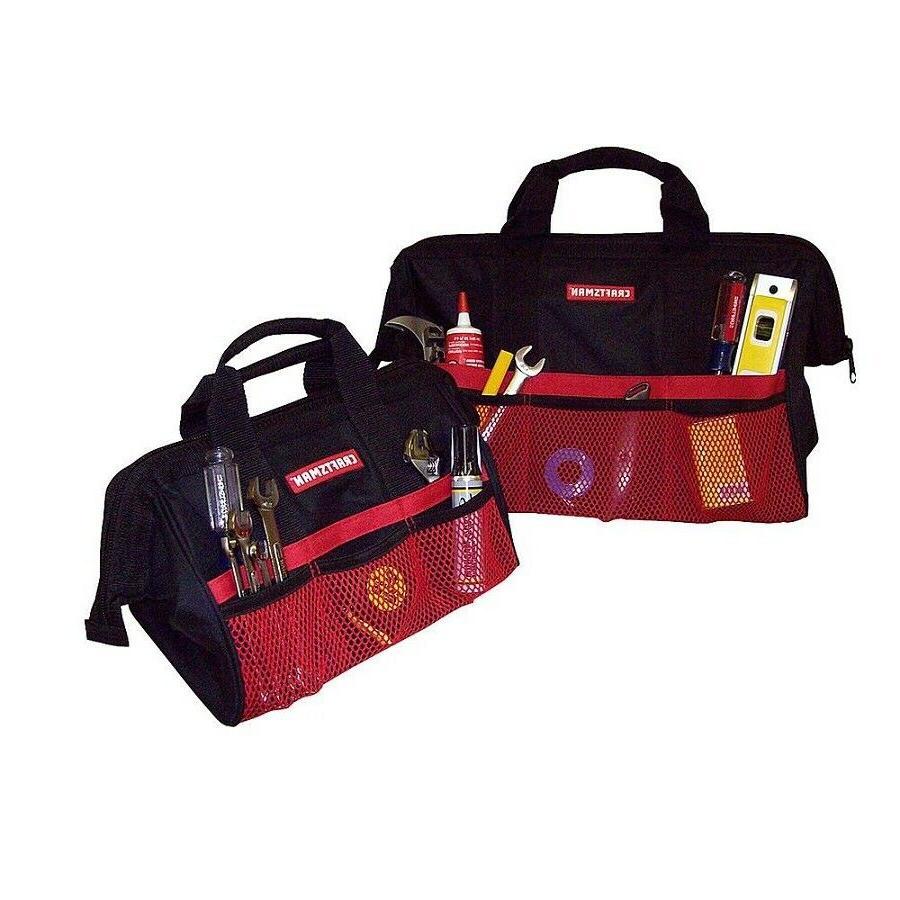 Craftsman Tool Bag Set Organizer Storage Pocket Small Large