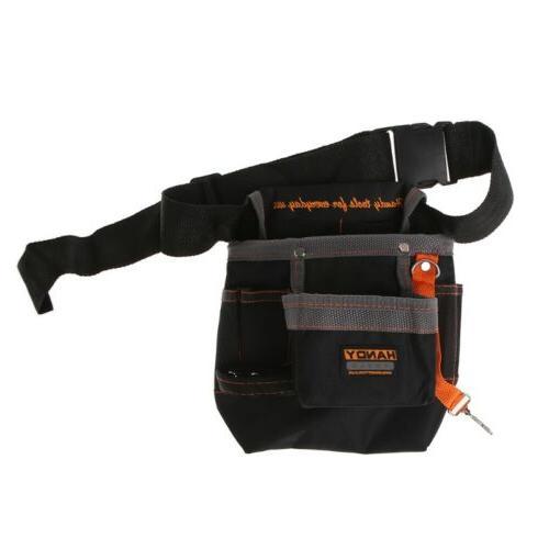 US Tool Bag Tool Case Carry Box Crate Belt Waist Bag Contain