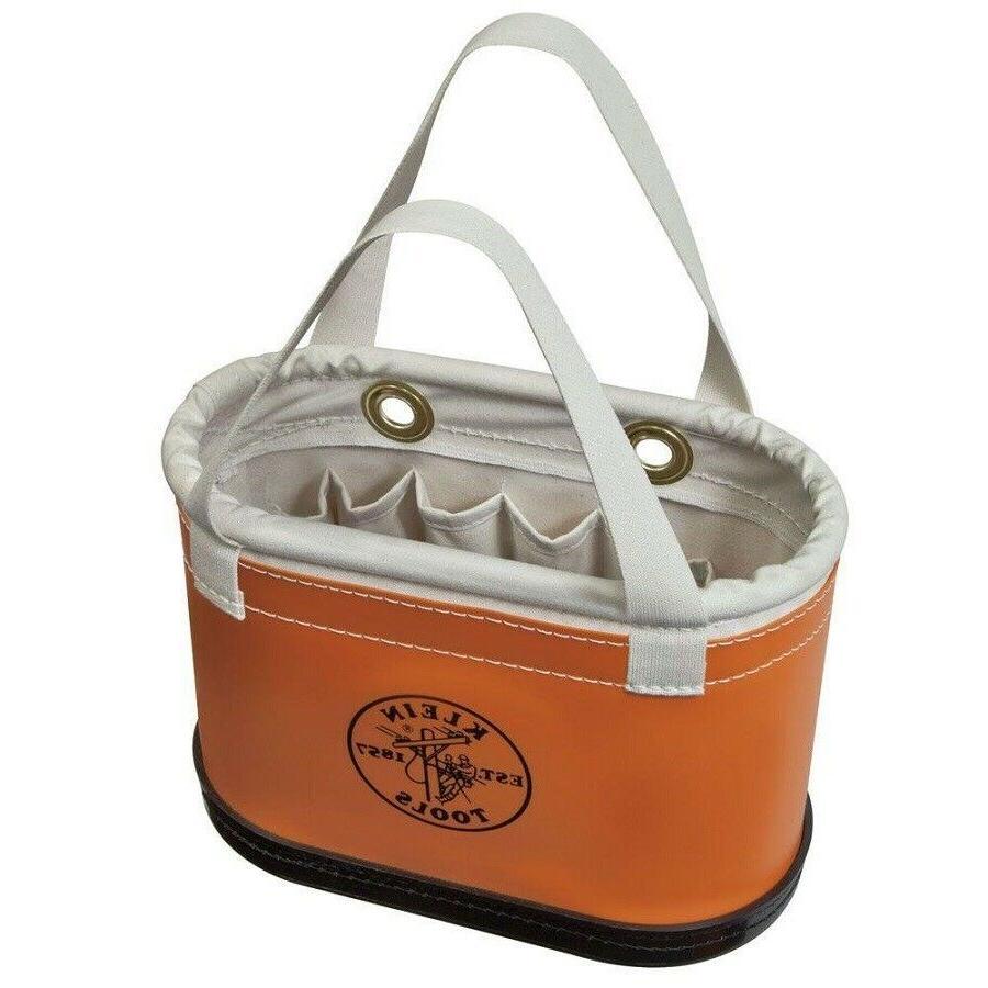 Klein Tools Tool Bucket Bag Jobsite Storage Hard Body Oval W