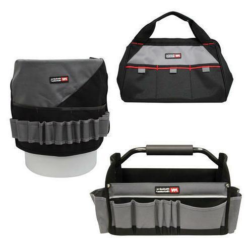 tool storage combo 3 piece set bag