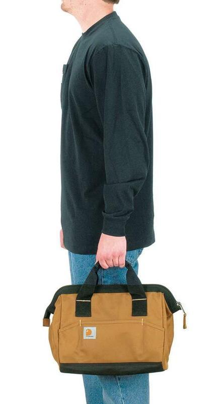 Carhartt Trade Tool Bag, Medium, Carhartt or Black