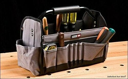 Ultimate Open Top Electricians Tool Bag Utility Tool Box Wor