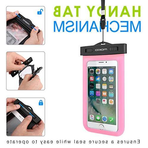 Universal Phone Case,Moko Pouch & Neck Strap iPhone X/8 Plus