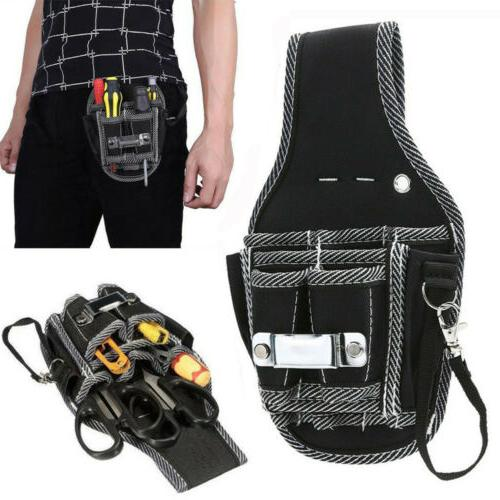Electrician Waist Pocket Tools Belt Pouch Bag Screwdriver Ki
