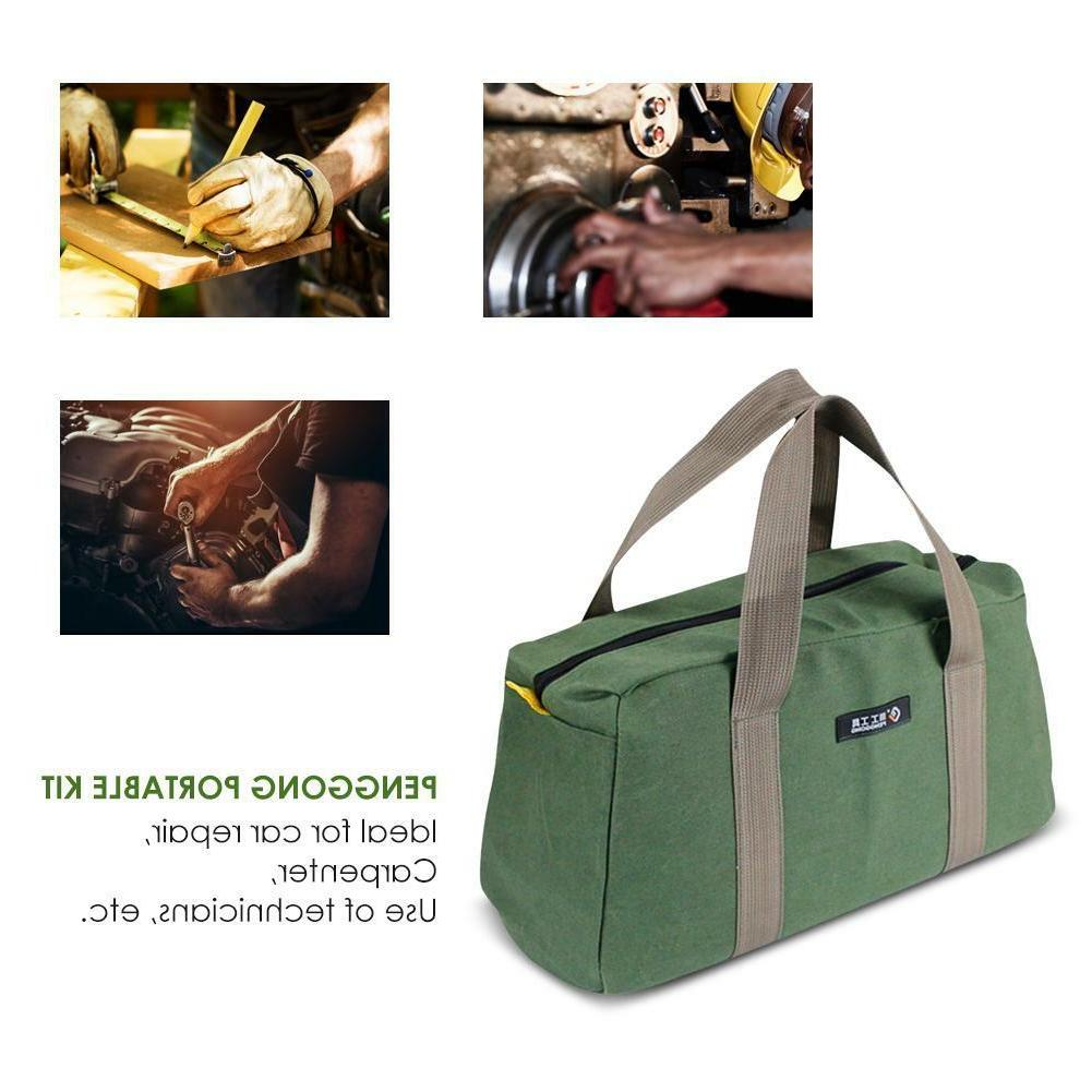 Multi-function Canvas Waterproof Storage Hand Bag Portable Toolkit