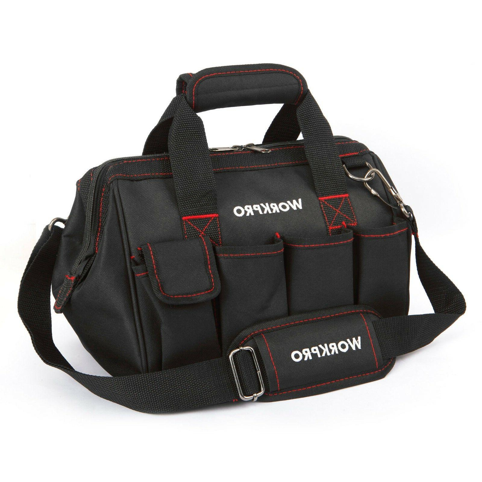 workpro tool bags 600d close top wide