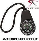 Zipper Pull Compass ByRothco4736 Liquid Filled Very Accu