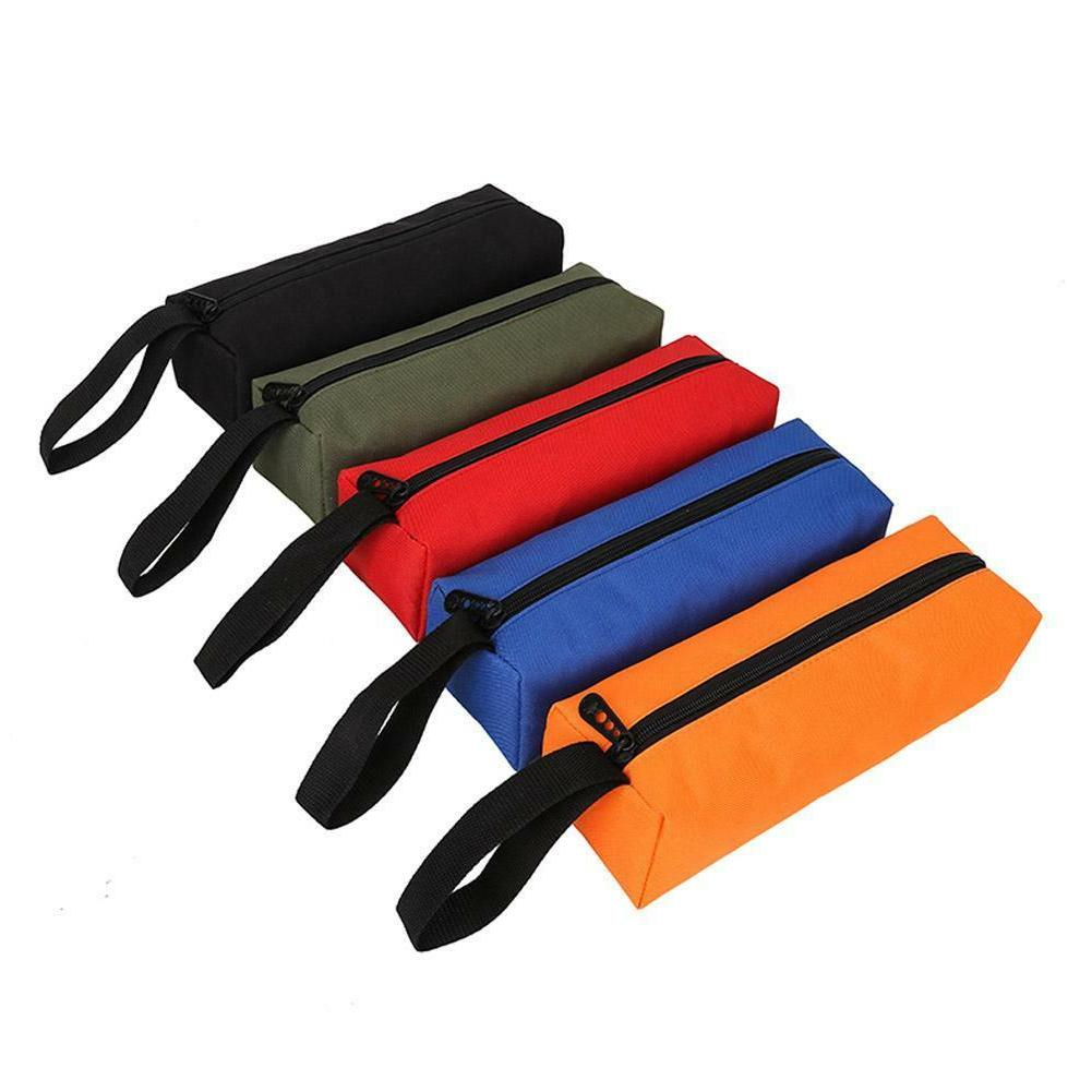 Electrician Zipper Storage Tool Bag Pouch Organize Small Par