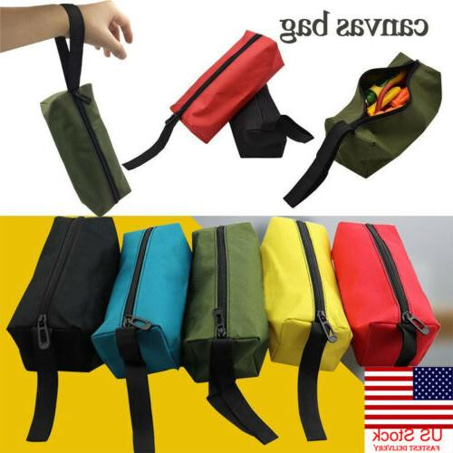 zipper tool bag pouch organize storage small