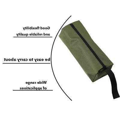 Zipper Tool Bag Organize Plumber Electrician Small Hand