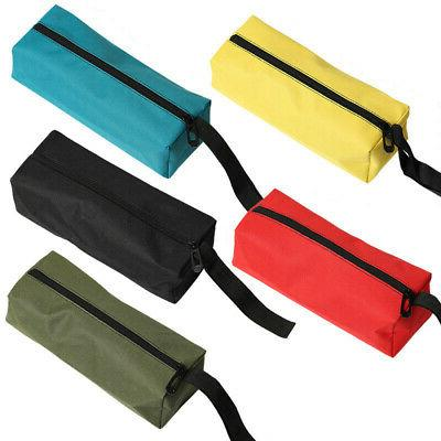 Zipper Tool Pouch Organize Plumber Electrician Small