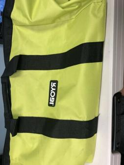 RYOBI LARGE CONTRACTORS WIDE MOUTH CANVAS TOOL BAG