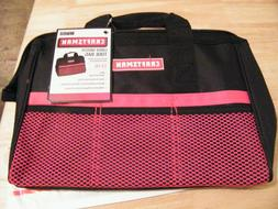 Large Mouth Tool Bag  RED- BRAND NEW - Craftsman Tool Bag -