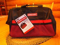 Large Mouth Tool Bag  RED- BRAND NEW - Craftsman Tool Bag -