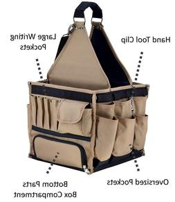 Large Tool Bag Tote Organizer Storage Carrier Electrician Ma