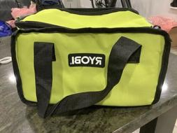 RYOBI LARGE TOOL BAG YELLOW & GREEN BRAND NEW FITS SEVERAL T