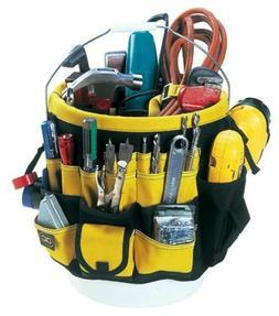 Leathercraft 4122 5 Gallon Bucket Tool Bag Organizer 61 Pock