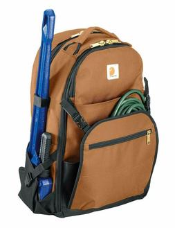 legacy expandable front tool backpack brown