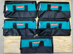 """Lot of 5! Makita 831271-6 21"""" Contractor Tool Bag for Power"""