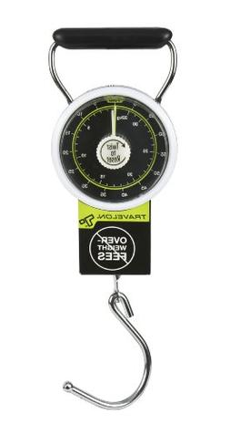 """Travelon Stop And Lock Luggage Scale 4"""" H X 3"""" W X 1.5"""" D"""