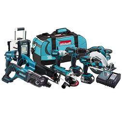 Makita LXT902 18V Cordless LXT 9-Piece Combo Kit