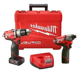 """Milwaukee Electric Tool 2597-22 M12 Drill/Driver, 1/2"""""""