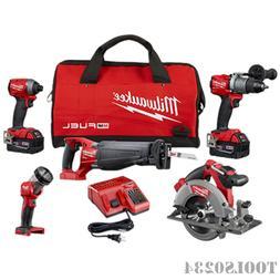 Milwaukee 2896-24 M18 Fuel 4-tool Combo Kit