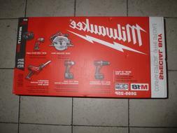 Milwaukee M18 18-Volt Lithium-Ion Cordless Combo Tool Kit  w