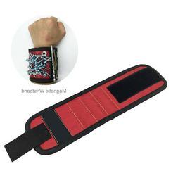 Magnetic Wristband Tool Bag Wrist Electrician Tool Belt Scre