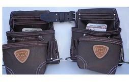 Mcguire Nicholas 695-E 10 pkt Carpenter Tool Pouch-2 Bags &