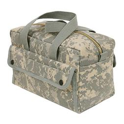 Rothco Mechanics Tool Bag with Brass Zipper, ACU Digital