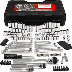 Craftsman 165 Piece 165 pc Mechanics Tool Set Kit Metric Rat
