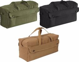 Military Heavy Weight Cotton Canvas Mechanics Jumbo Tool Bag