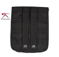 Rothco Molle Compatible 2-Pocket Ammo Pouch, Black