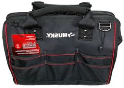 Husky 16 in Large Mouth Bag with Tool Wall