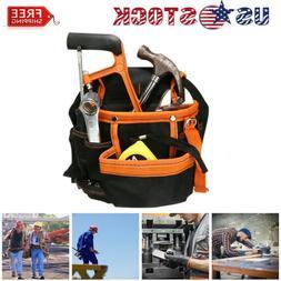 Multi Electrician Tool Bag Waist Pocket Pouch Belt Storage H