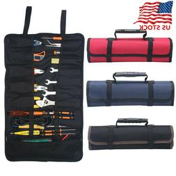 Multi-function Electrician Tool Pocket Bags Roll Up Storage