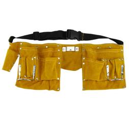Multi Tool Work Belt Leather Bag Storage Tools Teen Real lea