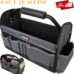 Multi-Use 15-Inch Collapsible Tote Tool Bags w/ 14 Exterior
