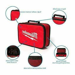 "NEW MILWAUKEE 12"" X 7"" X 4"" Medium Tool Bag Tote Case"