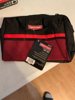 New Craftsman 13 Inch Large Mouth Tool Bag - FAST FREE SHIPP