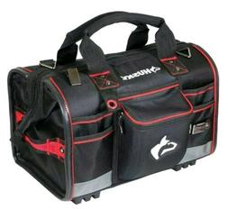 NEW Husky 18 in. Large Mouth Tool Bag with Tool Wall FREE SH