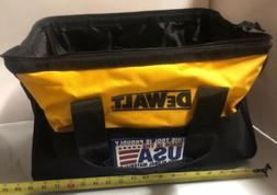 "NEW DEWALT 19"" X 12"" X 11"" Extra Large Tool Bag Tote C"