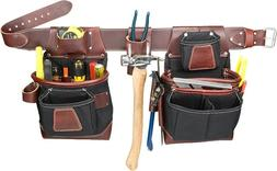 NEW Occidental Leather 8580-M FatLip Tool Bag Set, Size Medi