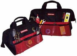 NEW! Craftsman Ballistic Nylon Tool Bag Set 12 pocket 2-Pack