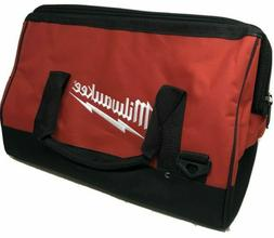 """New Extra Large 17 Inch Milwaukee Heavy Duty Tool Bag 17""""L x"""