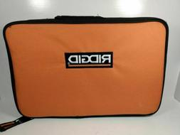 NEW Ridgid Genuine Zippered Carrying Bag Tool Bag / case 14""